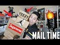 BIGGEST MAIL TIME TO DATE! Sneakers, Supreme, and Special Surprise From Youtube!