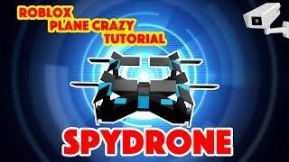 Roblox - Plane Crazy Tutorial (Spy Drone)