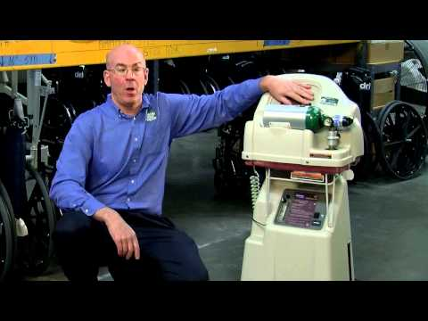 Using The InvaCare Homefill Oxygen Compressor With John From Home Med Equip