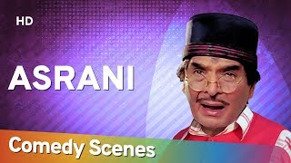 Asrani Comedy Scenes - Hit Comedy Of Bollywood Movie - Bollywood Best Comedian - #Shemaroo Comedy