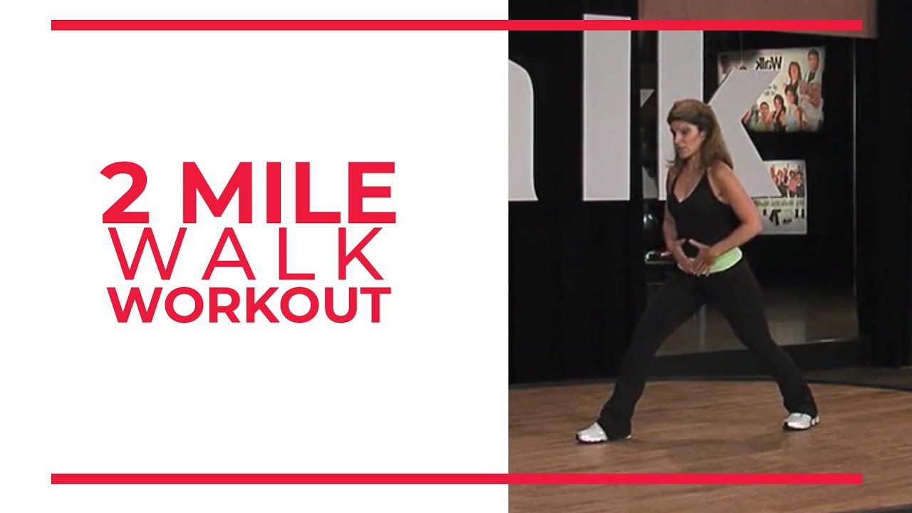 2 Mile Walk Workout | Walk at Home