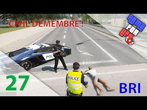 [Arma 3 Life] POLICE | BRI | Episode n°27 : Civil démembré d