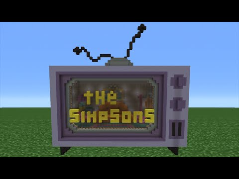 simpsons house in minecraft