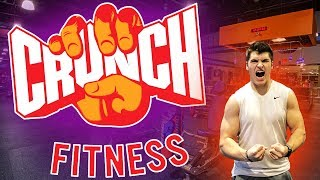 THE BEST GYM FOR $9.95 A MONTH!?!?!? (Crunch Fitness Review)