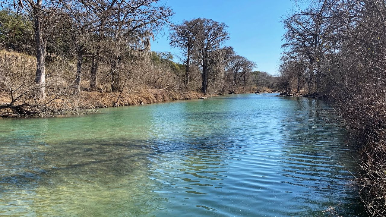 Guadalupe River State Park Texas - YouTube