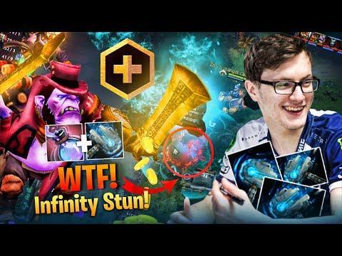 Miracle - WTF! Build Infinity Stun - Alchemist Funny Roaming - Meteor Hammer Cancer Build - DOTA 2