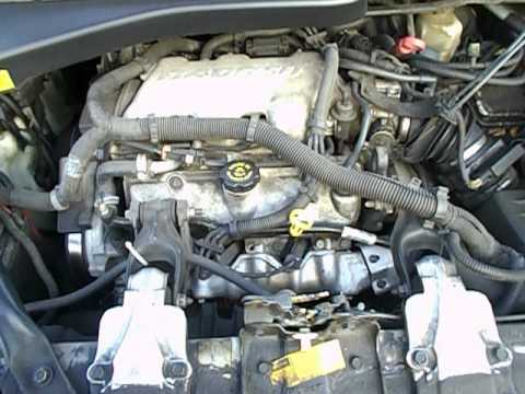 3 4 Liter Pontiac Grand Am Engine Diagram 2001 Pontiac Montana Engine View Youtube
