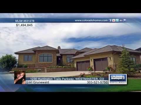 1230 Huntington Trails Parkway  WESTMINSTER, CO Homes For Sale | Coloradohomes.com