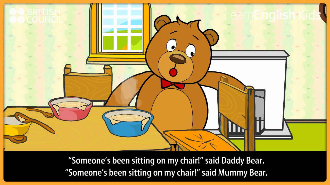 Goldilocks and the three bears - Kids Stories - LearnEnglish Kids ...