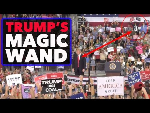 Vincent Fusca at Trump Rally in Erie, PA - Is JFK Jr Trump's Magic Wand?