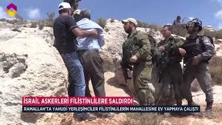 Filistin de İsrail Zulmü Bu Kez Ramallah ta