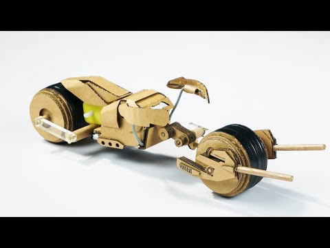 How To Make Batman BATPOD | Amazing DIY Cardboard Toy