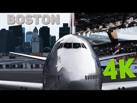 REALISTIC AIRLINE PILOT SIMULATOR ! 4K AMAZING GRAPHICS in Prepar3D (GTX 1080 + i7-7700k)