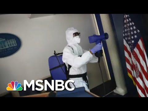 WH Security Chief Loses Leg To Severe Covid, Suffers 'Staggering' Medical Costs | All In | MSNBC