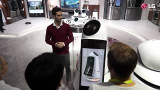 CES 2017: LG präsentiert neue Roboter und KI-Technologien