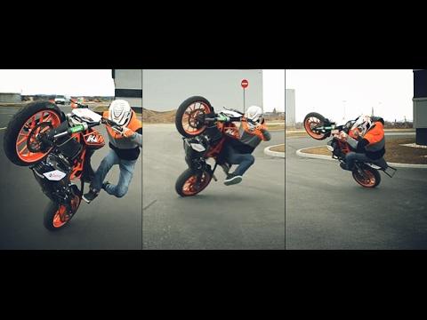  Wheelie on duke 390 2017  INDIA  BIKE WHEELIE