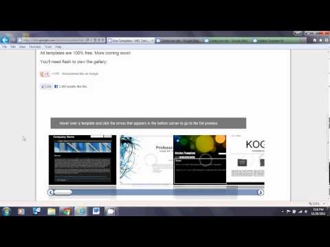 Interactive Whiteboard Solution using Google Sites for teacher and student collaboration(Video 7)
