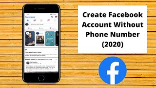 ... learn how to create a facebook account without phone number by following the simple instruc...