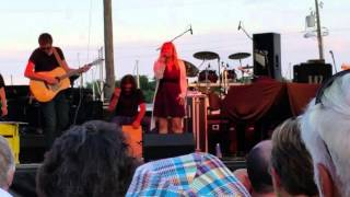 Risa Binder, August 7, 2017 at Havre De Grace Seafood Festival