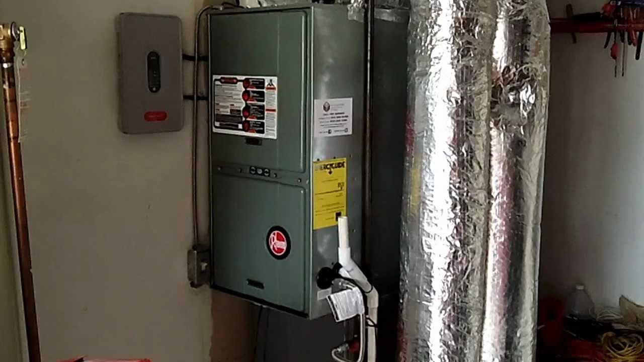 Rheem Gas Furnace and Honeywell Zoning System Installed by ...
