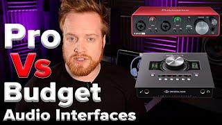 Cheap VS Expensive Audio Interface: Universal Audio Apollo Twin VS Focusrite Scarlett