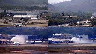 US Bangla Airlines inagural flight to Chennai