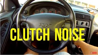 How To Diagnose A CLUTCH NOISE Problem | Ford Mustang Gt | Bearings