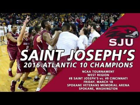 Men's Basketball Captures Atlantic 10 Title