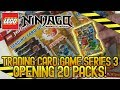 LEGO Ninjago Trading Card Game Series 3 | Opening 20 Packs!