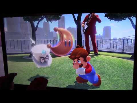 Super Mario Odyssey - New Donk City Gameplay (Pauline, Captain Toad) - E3 2017