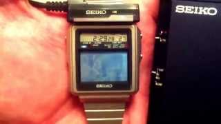Скачать Seiko T001 Tv Watch The Smallest Tv In The World