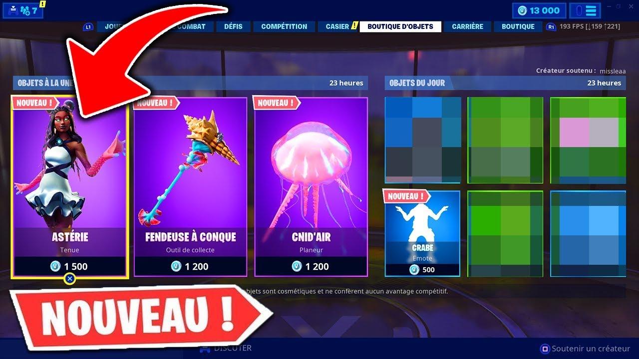 boutique fortnite du 02 juillet 2019  item shop july 02