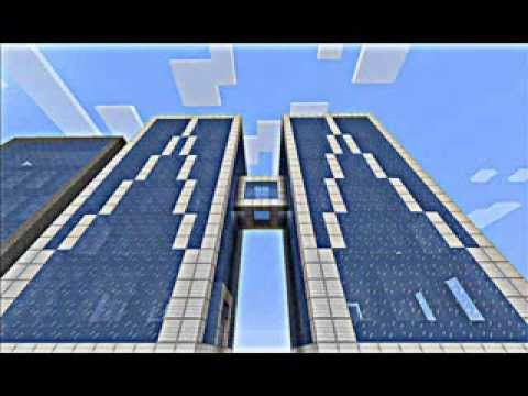 Construction d 39 un gratte ciel minecraft youtube - Construction gratte ciel ...