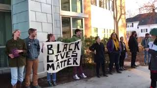 Black Lives Matter protesters at USM