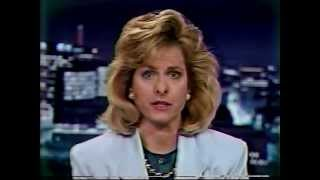 WSTM Channel 3 News - Pan Am Flight 103 - 12/21/88 - Syracuse NY