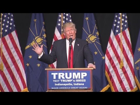 FULL SPEECH: Donald Trump visits Indianapolis for rally