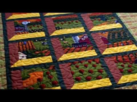 Simple Hand Quilting Designs Youtube Attic Window Quilt