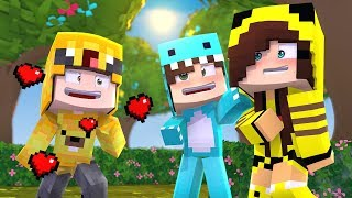 BEBE MILO CONSIGUE UNA NOVIA A BEBE ADRI 😍 MINECRAFT ROLEPLAY WHO YOUR DADDY