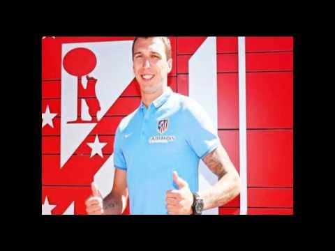 Mario Mandzukic Atletico De Madrid