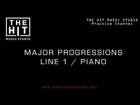 Major Harmony Progressions Line 1/ The Hit Music Studio