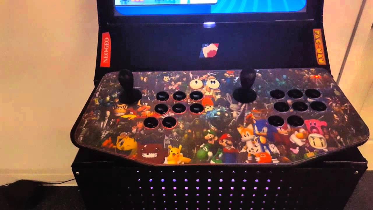 Maximus Arcade X Arcade Custom Cabinet Youtube
