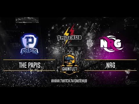 SMITE Gauntlet - The Papis vs NRG eSports - Match 3 - En ESPAÑOL
