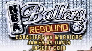 NBA Ballers Rebound (2005) - PSP - Lebron James vs Baron Davis