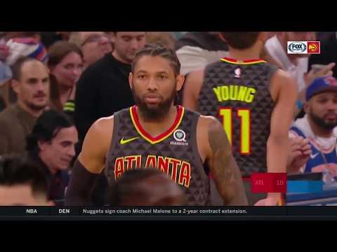 Jeremy Lin Hawks vs Knicks 10/17/2018