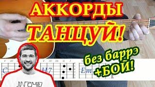 Танцуй Аккорды 🎸 Сплин ♫ Разбор песни на гитаре ♪ Бой Текст