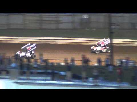 Williams Grove Speedway 410 and 358 Sprint Car Highlights 6-21-13