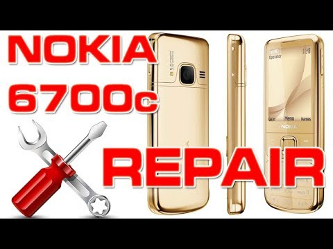 Nokia 6700 Classic Screen Repair / Case / Keyboard & Antenna Replacement | 4K