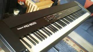 roland rd 600 keyboard piano pre rd700 model ebay auction
