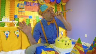 Blippi Learns at the Indoor Play Place | Educational Videos for Toddlers thumbnail