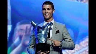 Cristiano Ronaldo élu meilleur joueur d'Europe 2016-2017